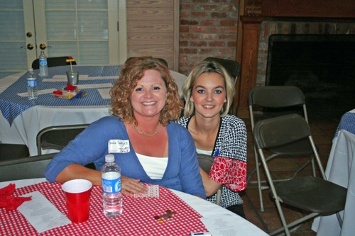 Paula Speights and Jennifer Upton